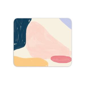 Mouse Mats Crayon Pattern Blobs Mouse Mat