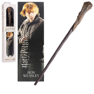 Ron Weasley 30cm PVC Wand with Prismatic Bookmark