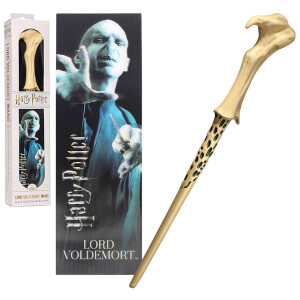 Lord Voldemort 30cm PVC Wand with Prismatic Bookmark
