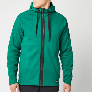 Reebok Men's Full Zip Hoodie - Green