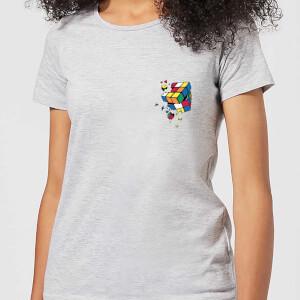 Rubik's Smash Cube Women's T-Shirt - Grey