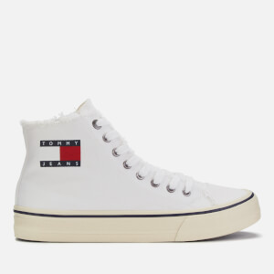 Tommy Jeans Men's Hi-Top Trainers - White