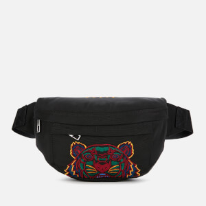 KENZO Contrast Cross Body Bag - Black
