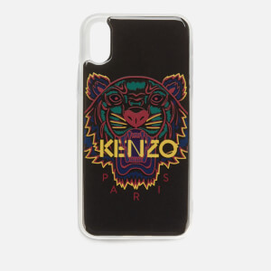 KENZO iPhone XS Case - Black/Purple