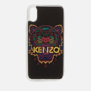 KENZO iPhone XS Case - Black/Purple