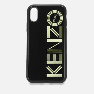 KENZO Script Logo iPhone XS Case - Black