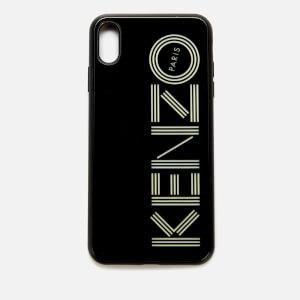 KENZO Script Logo iPhone X Max Case - Black