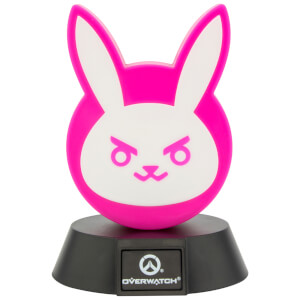Overwatch D.Va Bunny Icon Light