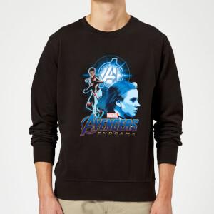Sweat-shirt Avengers: Endgame Widow Suit Homme - Noir