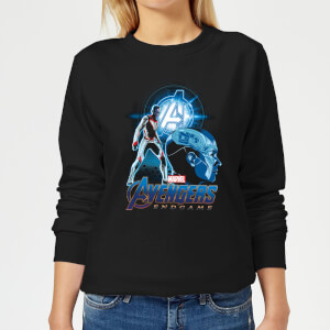 Avengers: Endgame Nebula Suit Women's Sweatshirt - Black