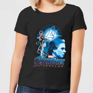 T-Shirt Avengers: Endgame Widow Suit - Nero - Donna