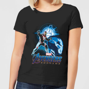Avengers: Endgame Iron Man Suit Damen T-Shirt - Schwarz