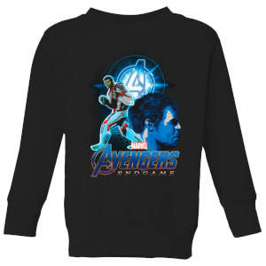 Avengers: Endgame Hulk Suit Kids' Sweatshirt - Black