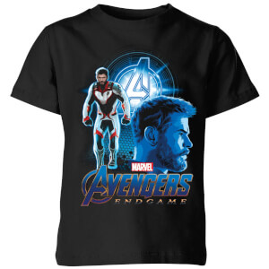 Avengers: Endgame Thor Suit Kids' T-Shirt - Black