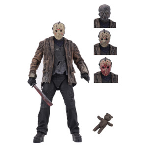 "NECA Freddy vs Jason - 7"" Scale Action Figure - Ultimate Jason Voorhees"