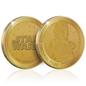 Collectible Star Wars Commemorative Coin: Imperial Pilot - Zavvi Exclusive (Limited to 1000)