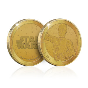 Collectable Star Wars Commemorative Coin: C-3PO - Zavvi Exclusive (Limited to 1000)