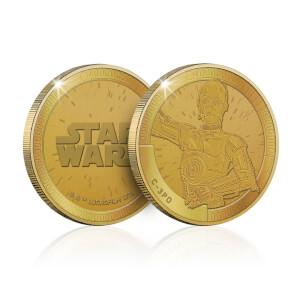 Collectable Star Wars Commemorative Coin: C-3PO - Zavvi Exclusive (Limited to 1000)