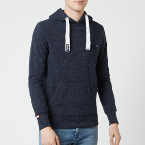 Superdry Men's Orange Label Lite Hoody - Ravine Blue Grit