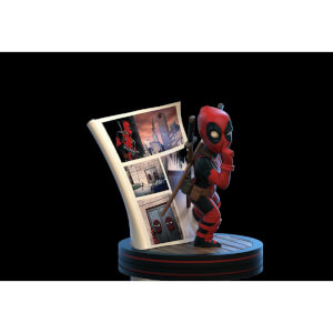 Quantum Mechanix Marvel's Deadpool 4D Q-Fig Diorama