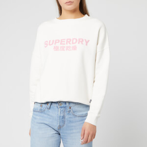 Superdry Women's Freya Crew Sweatshirt - Chalk