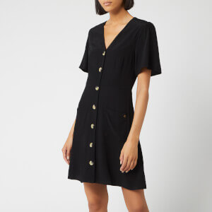 Superdry Women's Darcy Button Through Dress - Black
