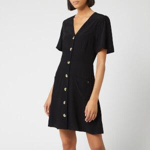 Superdry Women's Darcy Button Through Dress - Black