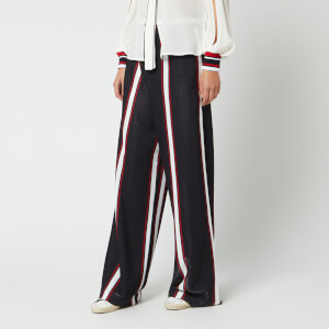 Golden Goose Deluxe Brand Women's Sophie Pants - Navy White/Red Stripes