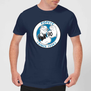 Popeye Popeye 90th Men's T-Shirt - Navy