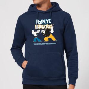 Popeye Popeye Vs Brutus Hoodie - Navy