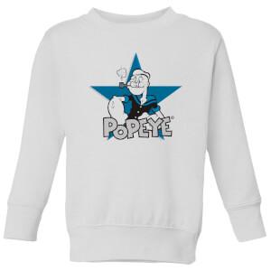 Popeye kindertrui - Wit