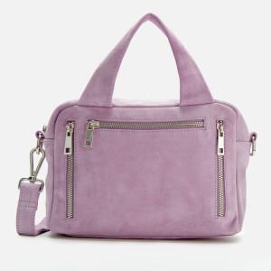 Núnoo Women's Donna Suede Bag - Lavender