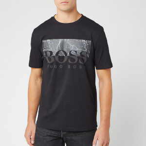 BOSS Men's Trek 4 Marble Logo T-Shirt - Black