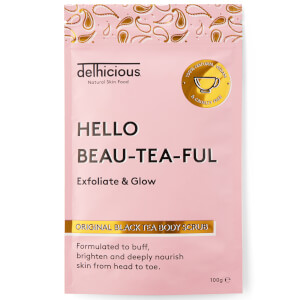 Delhicious Beauty Original Black Tea Body Scrub