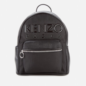 KENZO Women's Neoprene Logo Backpack - Black