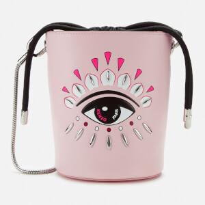 KENZO Women's Eye Mini Bucket Bag - Pink
