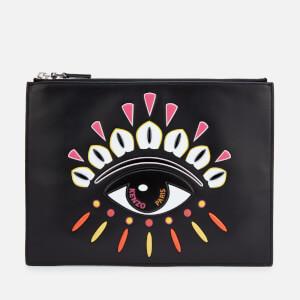 KENZO Women's Eye A4 Pouch - Black