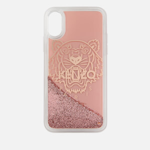 KENZO Women's Glitter Tiger iPhone Case - Pink