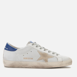 Golden Goose Deluxe Brand Men's Superstar Leather Trainers - White/Cream Star
