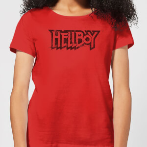 Hellboy Logo Women's T-Shirt - Red