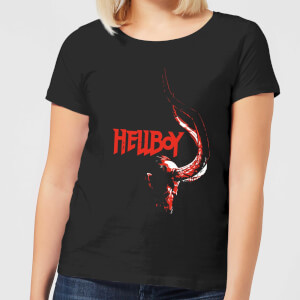 Hellboy Profile Women's T-Shirt - Black