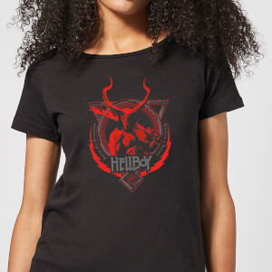 Hellboy Hell's Hero Women's T-Shirt - Black