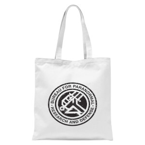 Hellboy B.P.R.D. Tote Bag - White