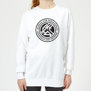 Hellboy B.P.R.D. Women's Sweatshirt - White
