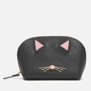 Kate Spade New York Women's Cat Small Abalene Wallet - Black Multi