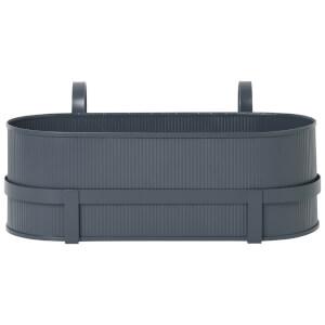 Ferm Living Bau Balcony Pot - Dark Blue