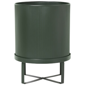 Ferm Living Bau Pot - Large - Dark Green