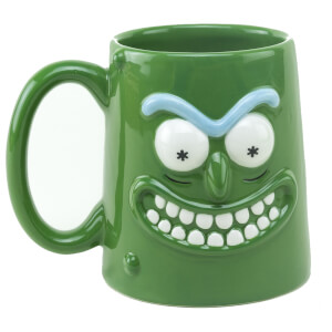 Rick and Morty Pickle Rick 3D Mug