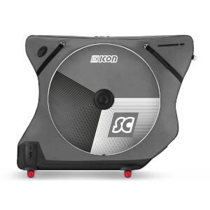 SCICON (シーコン) AEROCOMFORT ロード 3.0 TSAバイクバッグ-限定版-STELVIO-アーバングレー パスポートウォレット&レインバッグ付き