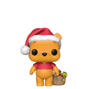 Figurine Pop! Winnie L'ourson - Disney Noël